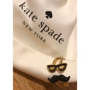 Kate Spade ♠️ Dress The Part Mustache Wrap Ring